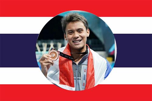 Bangkok Swim academy national swimmer Navaphat