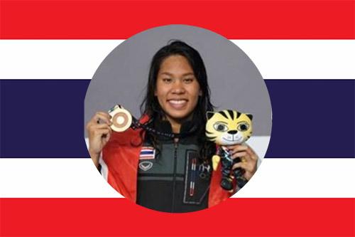Bangkok Swim academy national swimmer Phiangkhwan