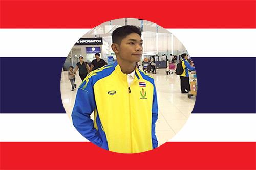 Bangkok Swim academy national swimmer Tarit