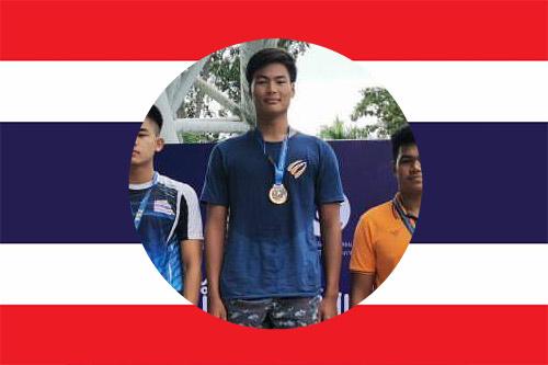 thai national swimmer Nattapat