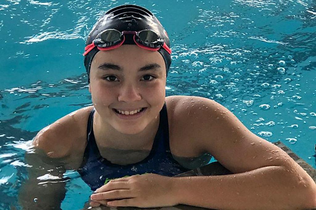 National swimmer from Bangkok Elite Swim team