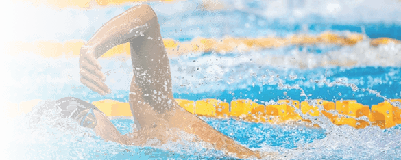 freestyle male swimmer