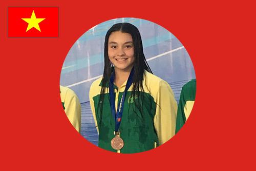 Best national swimmer for Vietnam Chloe