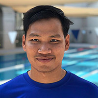 Coach Top, one of the swim coaches at Best Bangkok