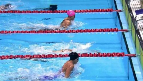 Bangkok Elite swim team members representation at National level.